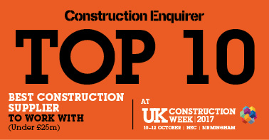 Best construction supplier to work with (under 25m)
