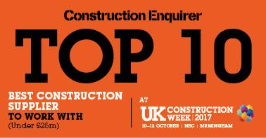 Best construction supplier to work with (under 25m)
