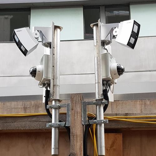 biosite cctv cameras installed