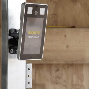 Facial Recognition camera by Biosite